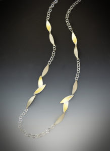 K 478 -Bamboo Necklace - 3.25 x .30 x 28L -$440
