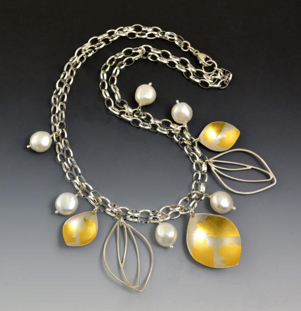 K 490 Monarch Charm Necklace - 1.30 x 1.12 x18L - $580 - Copy