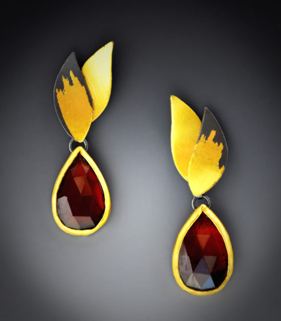 Garnett Wings Earrings