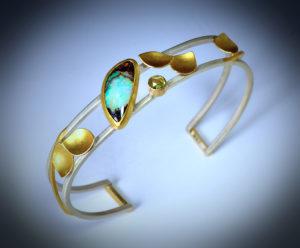 9-17 Opal Prenite Cuff