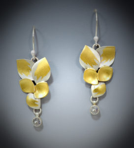9-17 Saphire Leaf Earrings copy